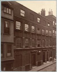 Houses In Great St. Helen's, Bishopsgate Street